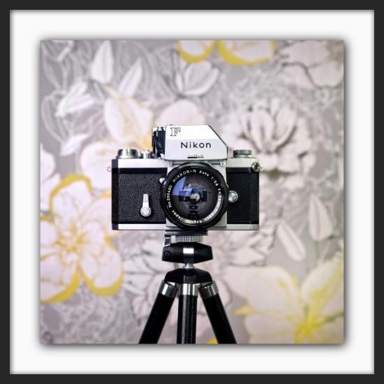 Cameraselfie Nikon F