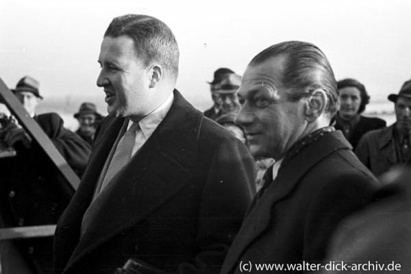 Henry Ford II zu Besuch bei den Kölner Ford-Werken