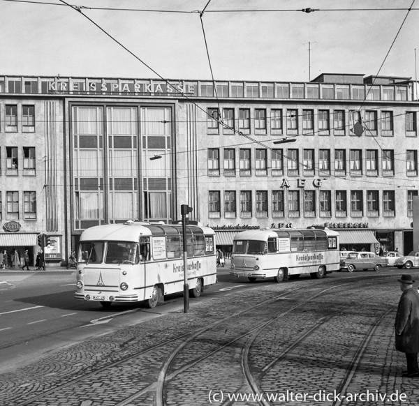 Kreissparkasse Köln 1965 - Rollende Zweigstellen