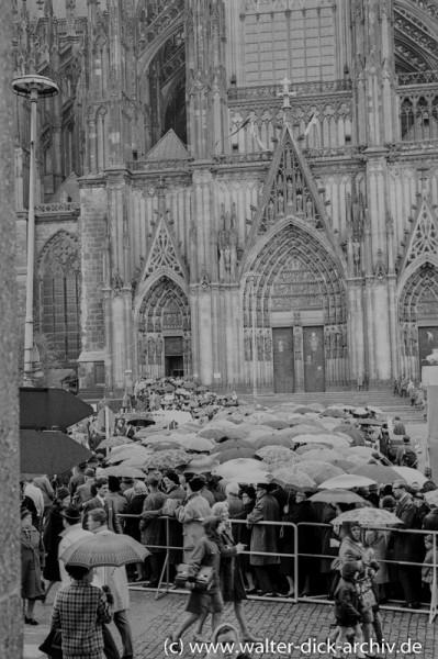 Beerdigung Konrad Adenauers 1967