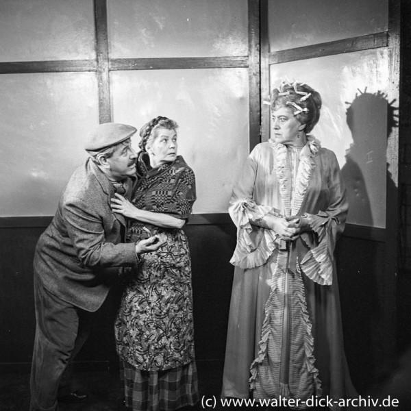 """Millowitsch Theater """"Im Nachtjackenviertel"""" 1958"""