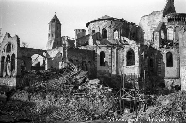 Maria im Kapitol bei Kriegsende