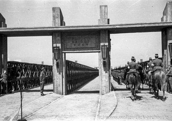 Eröffnung der Patton Brücke