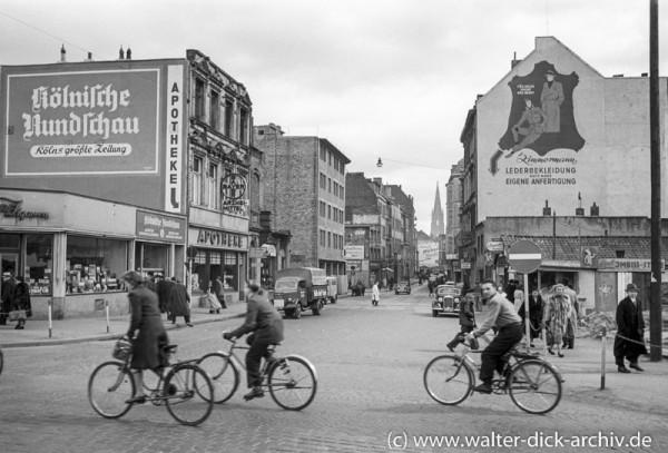 Blick in die Friesenstraße