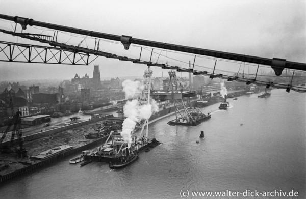 Blick auf den Mülheimer Hafen
