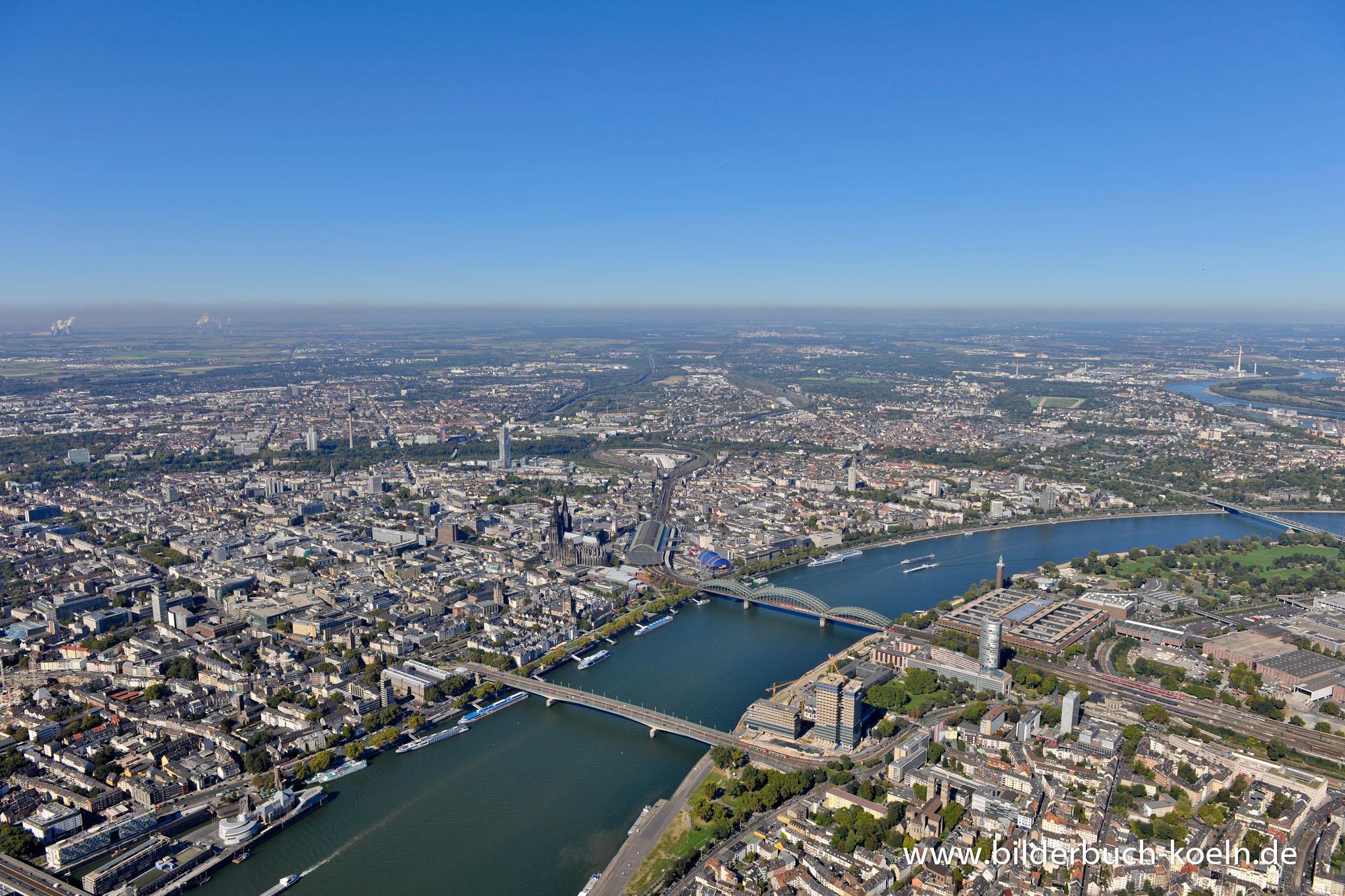 Koeln-Luftbild-2012-Cologne-aerial-view-bilderbuch-koeln