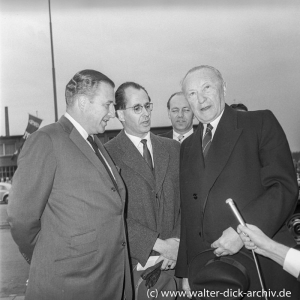 Konrad Adenauer und Henry Ford II