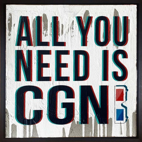 Mobile Graffiti -All you need is CGN 3D