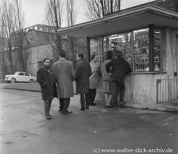 Treffpunkt Büdchen 1960