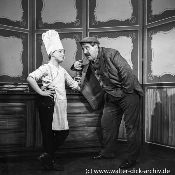 Willi und Peter Millowitsch 1959