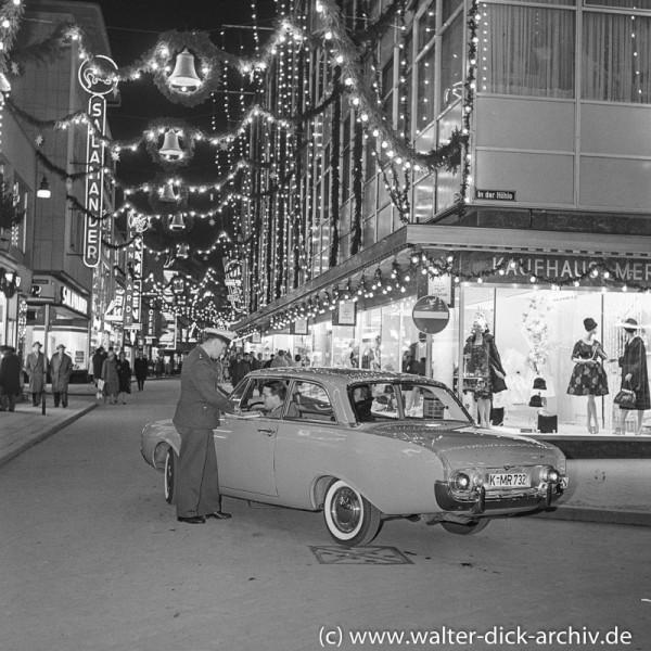 Werbefotos für das neue Kölner Ford Modell (P 3)