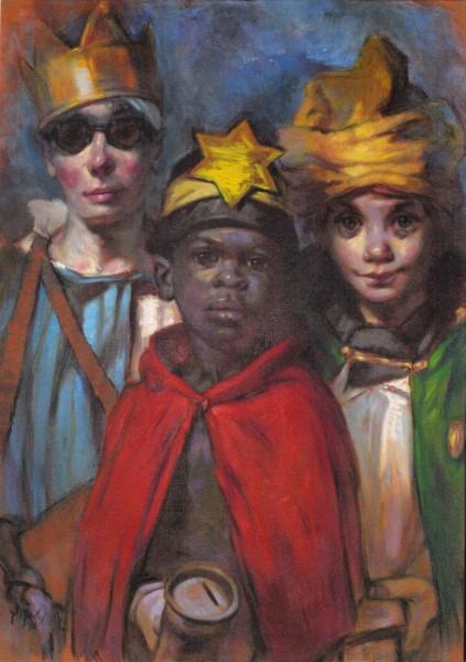Drei bettelnde Könige - Gerd Mosbach