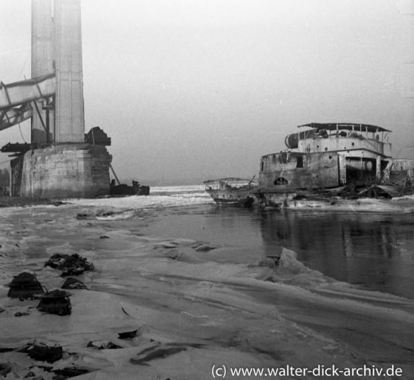 Rodenkirchener Brücke 1947