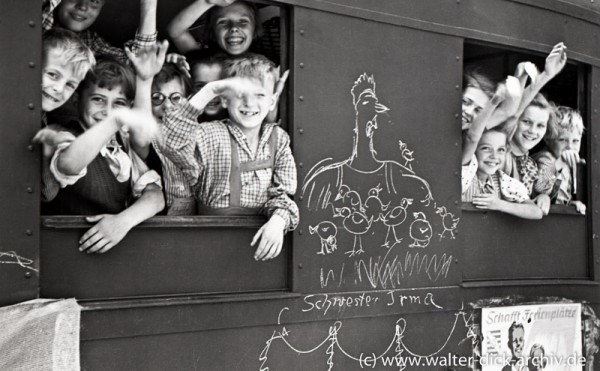 Kölner Kinder fahren in die Schweiz