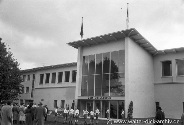 Clubheim des 1. FC Köln 1953