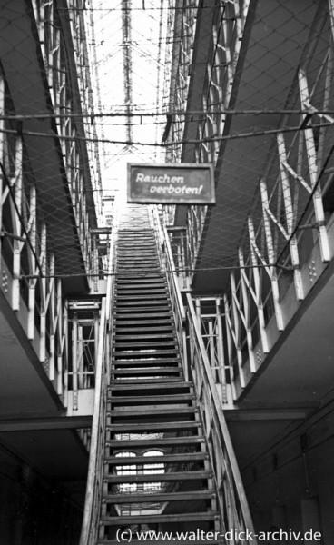 Treppenaufgang im Klingelpütz (Gefängnis)