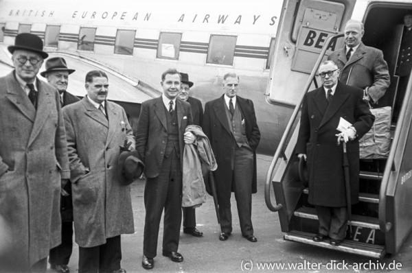 Eine britische Delegation besucht Köln