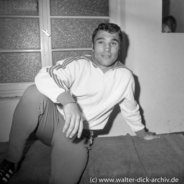 Jupp Elze vor seinem letzten Kampf 1968