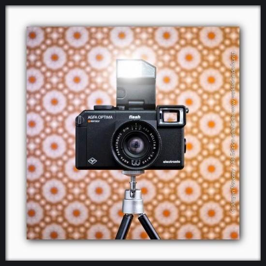 Cameraselfie Agfa Optima Flash