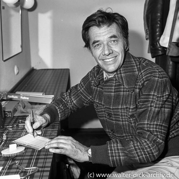 Gerhard Riedmann beim Lottotip 1962