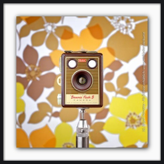 Cameraselfie Kodak Brownie Flash