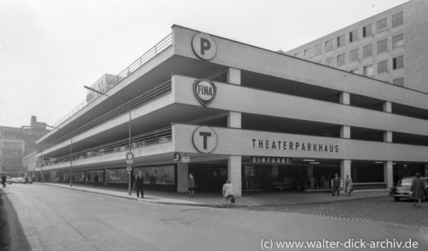 Parkhaus an der Krebsgasse 1960