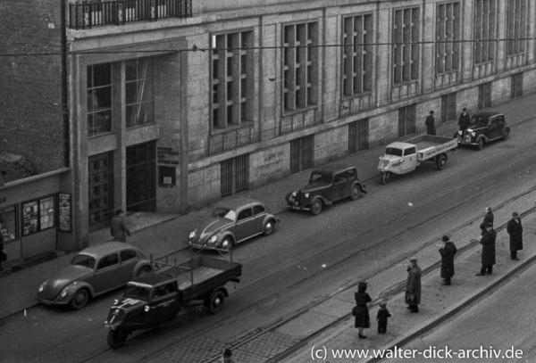 Im Kölner Bankenviertel 1951