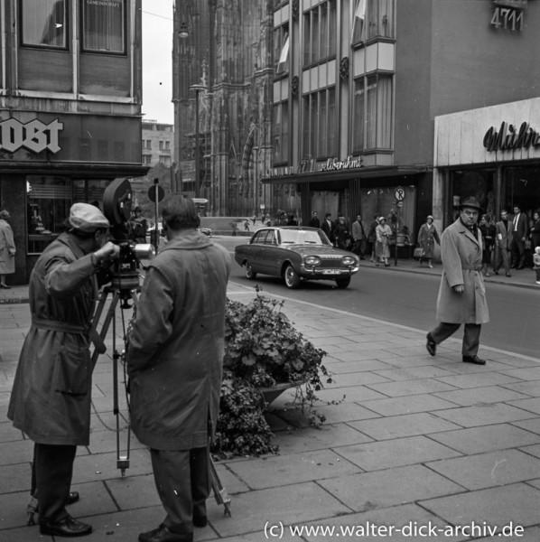 Werbefilm für das neue Kölner Ford Modell (Taunus P 3) 1960