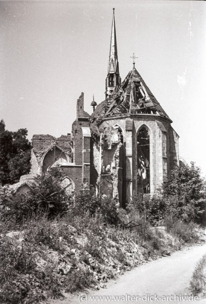 Zerstörte Kartäuserkirche