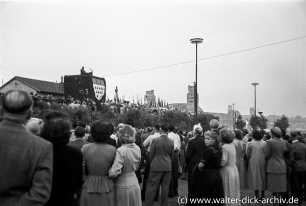 Großkundgebung zur 1900 Jahr Feier 1950