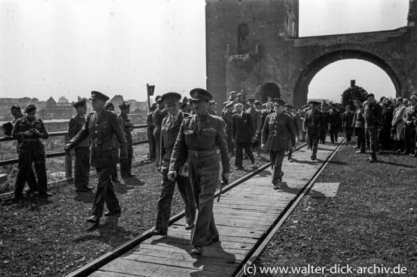 Eröffnung der Südbrücke 1946