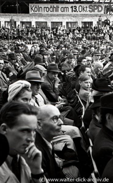 Wahlversammlung der SPD 1946