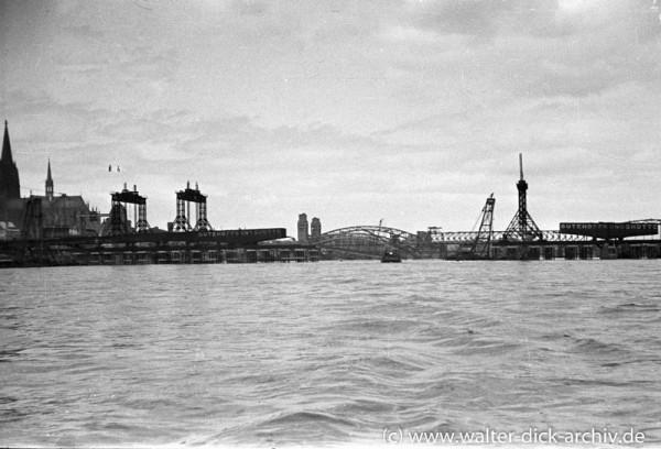 Wiederaufbau der Deutzer Brücke