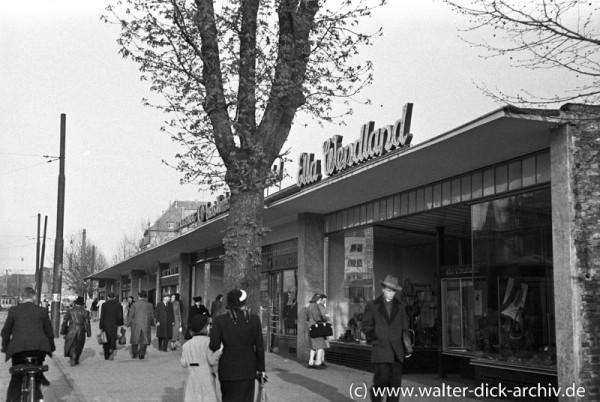 Ladenlokale an der Hahnenstraße