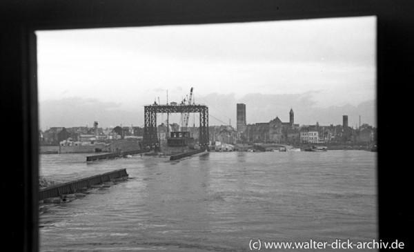 Hochwasser Köln 1948