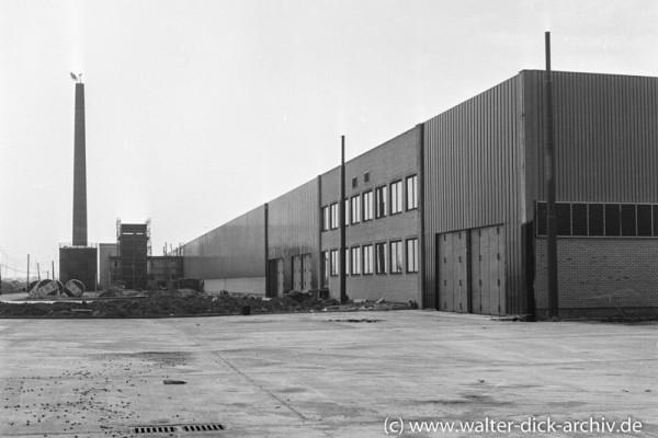 Ersatzteillager der Kölner Ford-Werke
