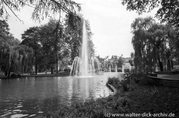 Kurpark in Godesberg 1965