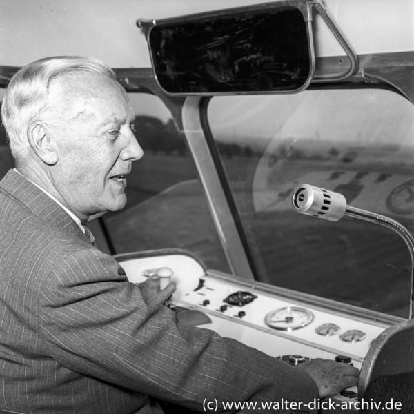 Axel Lennart Wenner-Gren Initiator der ALWEG-Bahn 1957