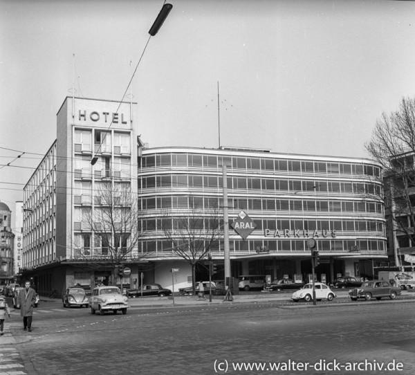 Parkhaus am Augustinerplatz 1960