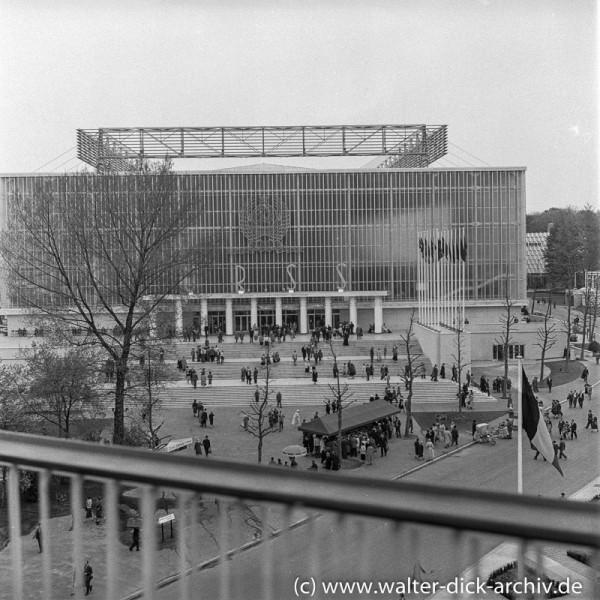 EXPO in Brüssel -Russischer Pavillon1958