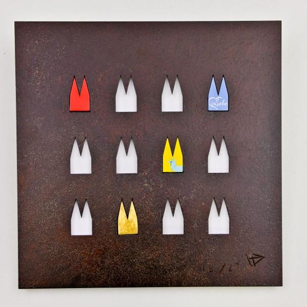 Dom Stahlplatte - 12 Ausschnitte - Helmut Brands