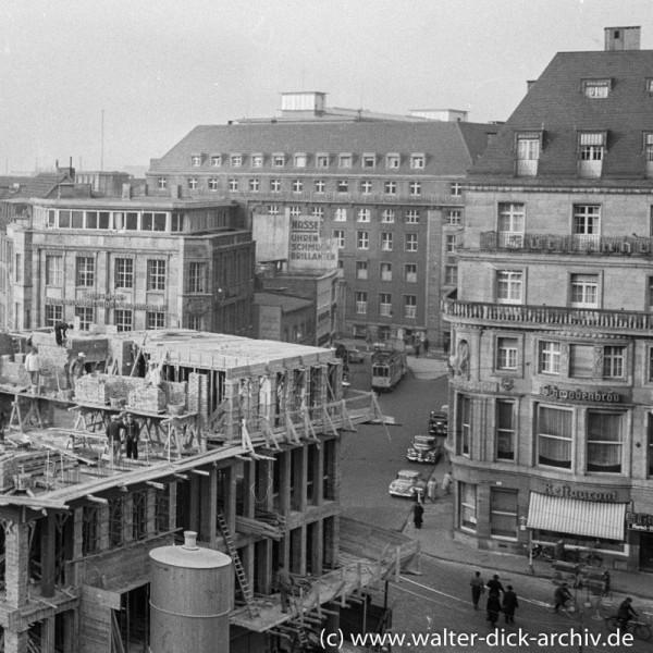 Neubau des Verkehrsamtes 1953