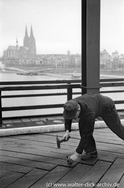 Bau der Pattonbrücke