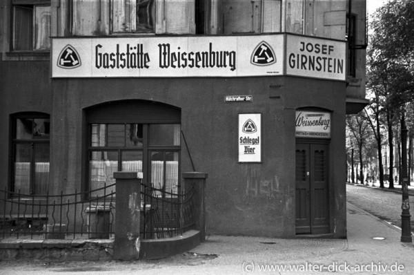 Vor der Weissenburg