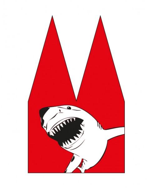 Dom Einsatz - Helmut Brands - Hai rot weiß