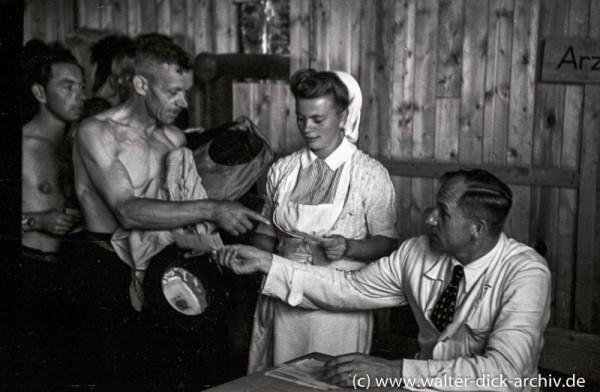 Medizinische Betreuung von Flüchtlingen