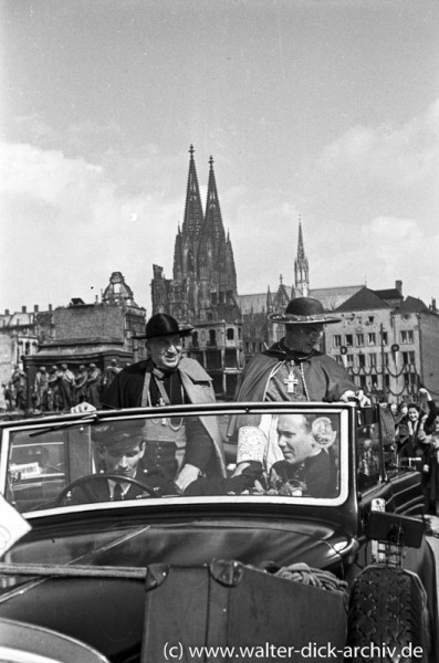 Kardinal Frings und der päpstliche Legat