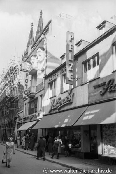 Auf der Hohe Straße 1954