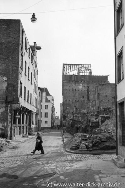 Wiederaufbau im Martinsviertel
