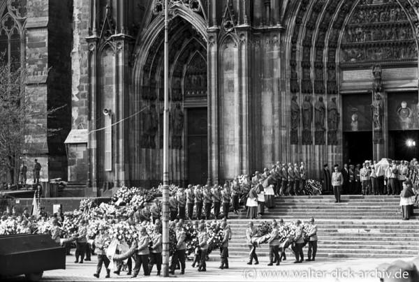 Beerdigung Konrad Adfenauers 1967